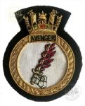 AVENGER - Blazer Badge~OFFICIALLY LICENCED PRODUCT